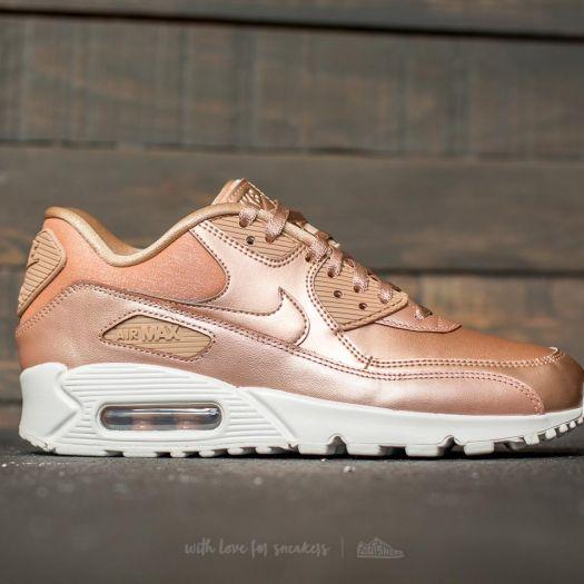 Nike Wmns Air Max 90 Premium Metallic Red Bronze | Footshop