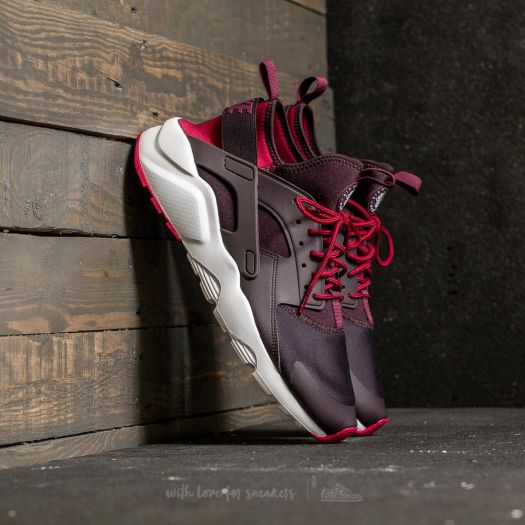 Nike Air Huarache Run Ultra Port Wine Bordeaux Noble Red | Footshop