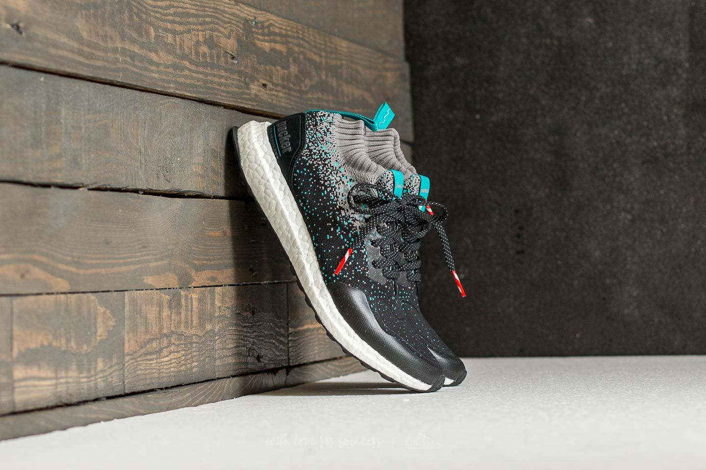 adidas Consortium x Packer x Solebox Ultraboost Mid S.E. Core Black/ Energy Blue