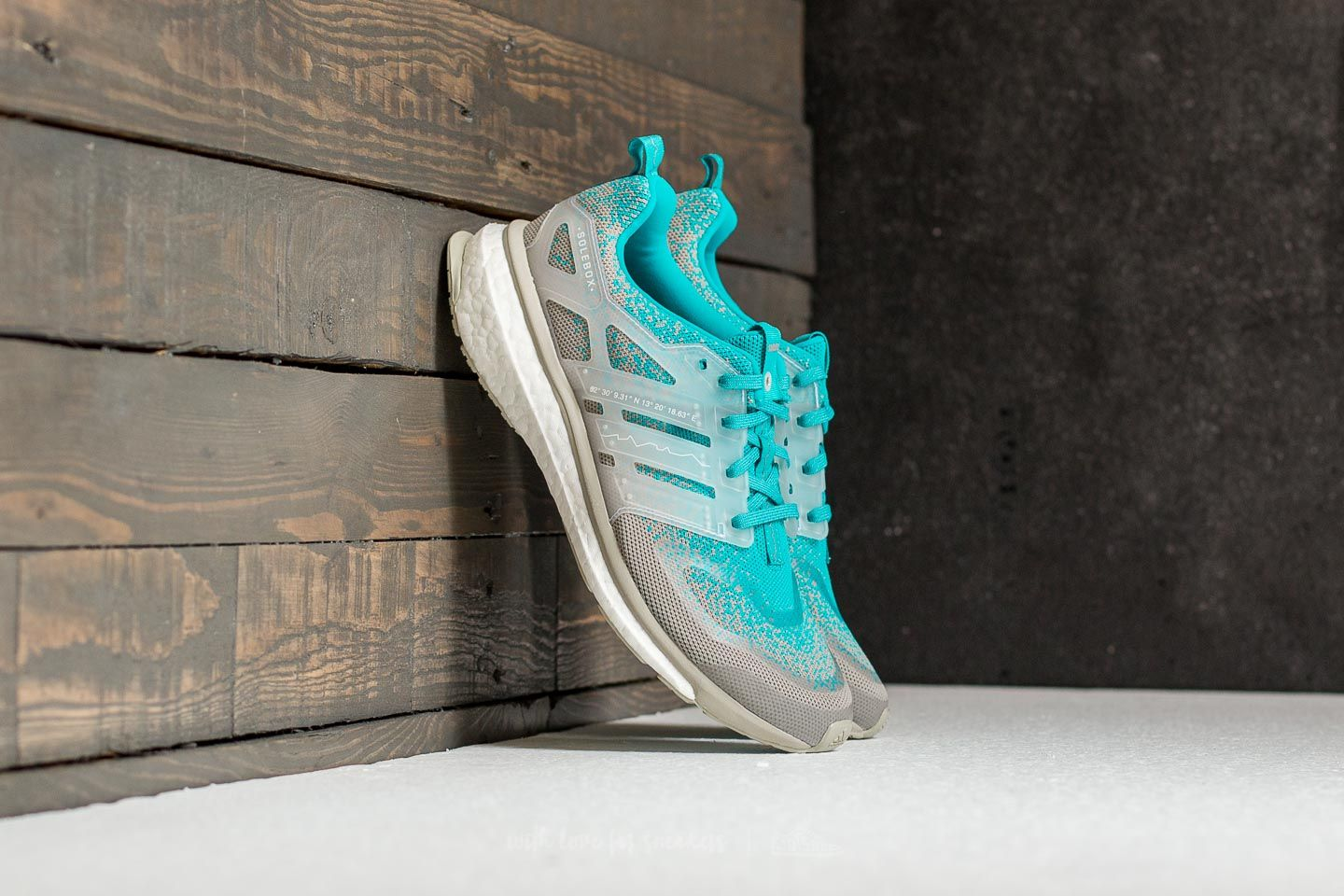 124dc9ea077 adidas Consortium x Packer x Solebox Energy Boost S.E. Energy Blue  Sesame   Gum at