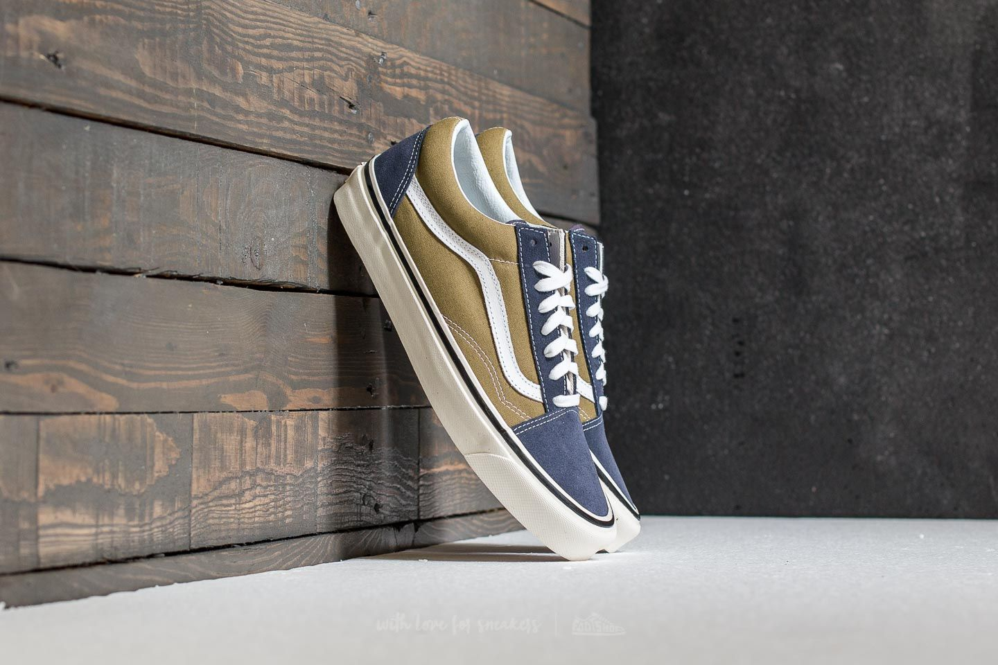 vans old skool damen olive