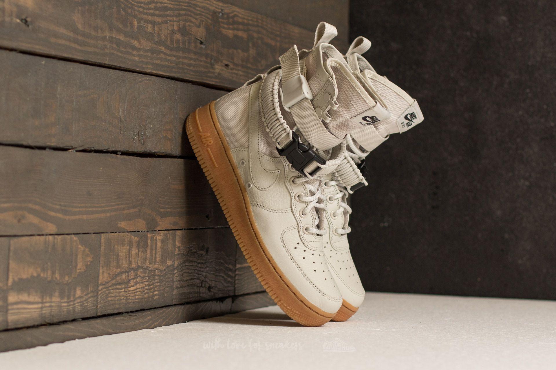 tienda de liquidación precio bajo 100% originales Nike W SF AF1 Light Bone/ Light Bone | Footshop