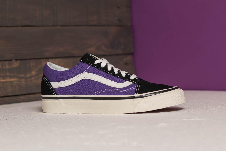 Vans Old Skool 36 DX (Anaheim Factory) Black Bright Purple | Footshop