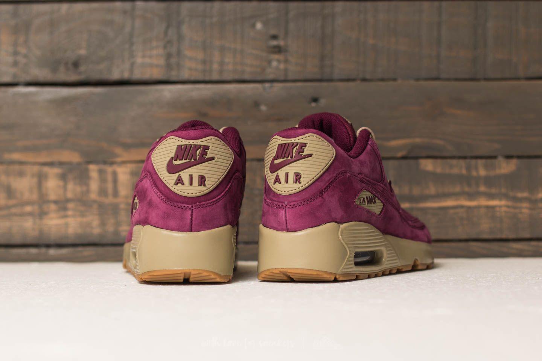 Nike Air Max 90 Winter Premium (GS) Bordeaux Bordeaux Bamboo | Footshop
