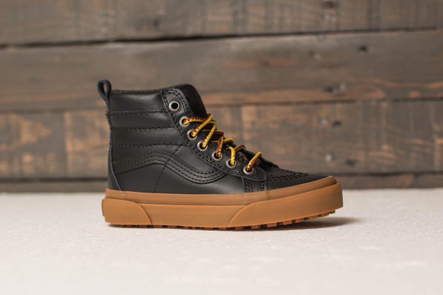 d928efdcff Vans Sk8-Hi (MTE) Black  Leather  Gum at a great price
