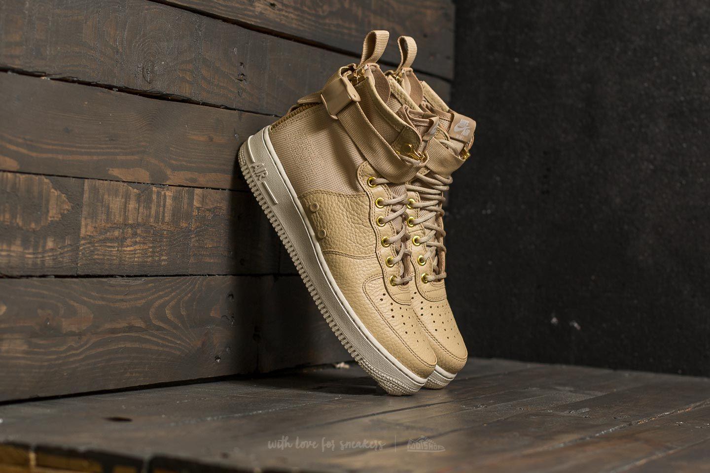 452e42679d42 Nike SF Air Force 1 Mid Mushroom  Mushroom-Light Bone