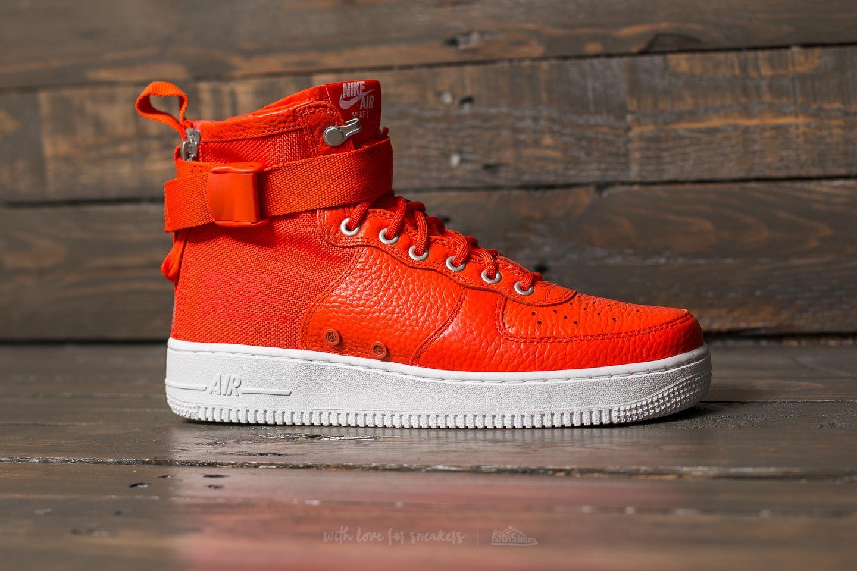 SF Air Force 1 Mid Team Orange