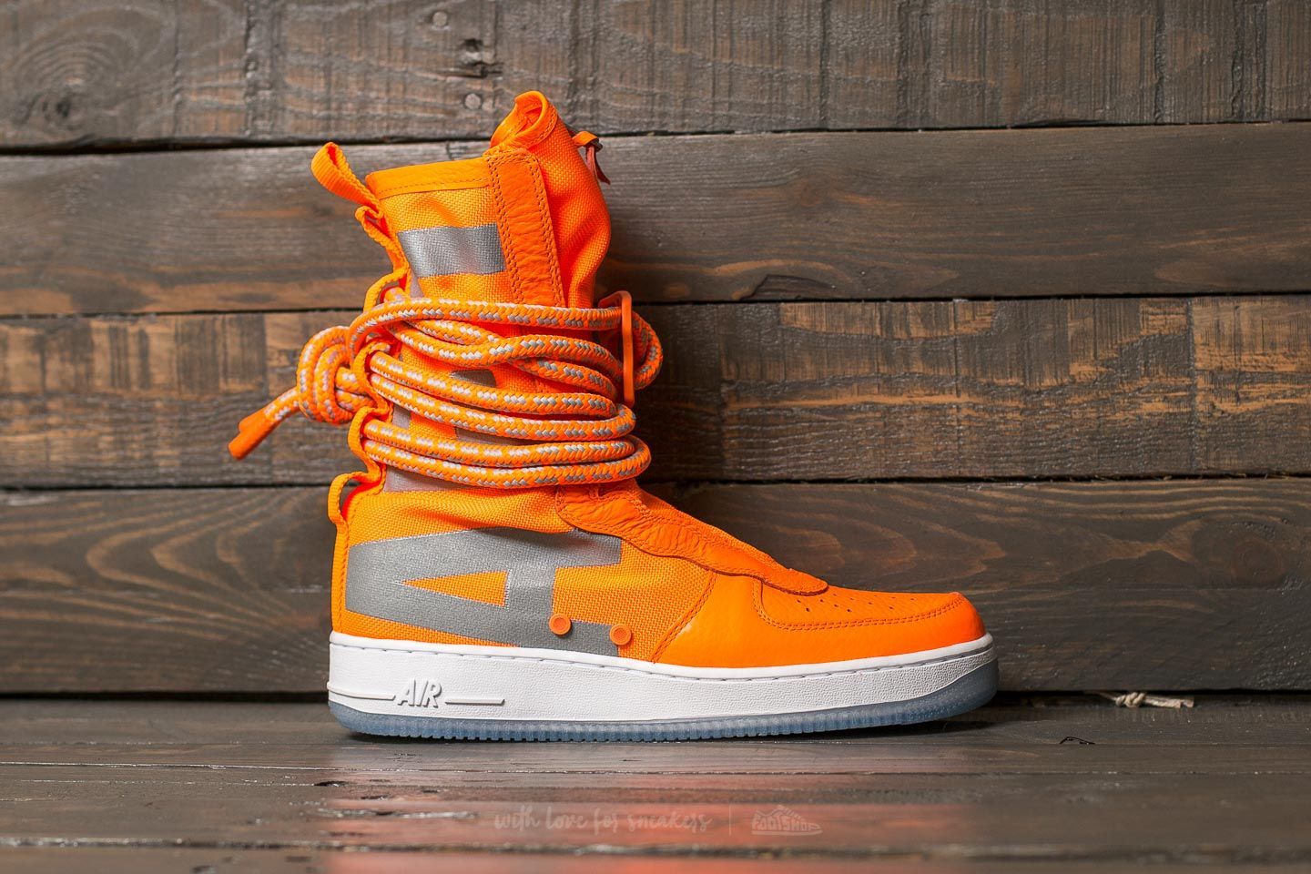 Nike SF Air Force 1 Hi Total Orange Total Orange | Footshop