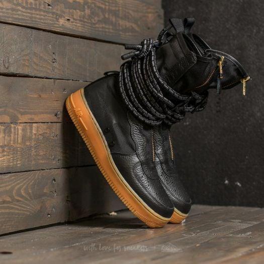 Nike Sf Air Force 1 High Black Gum