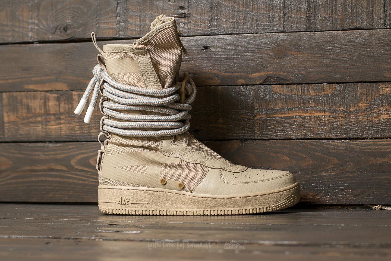 Nike W SF Air Force 1 Hi Rattan Rattan White | Footshop
