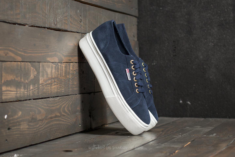 Dámské tenisky a boty Superga 2790 Suede W Blue