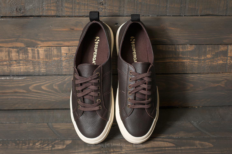 Superga 2750 Fglu Brown DK Chocolate | Footshop