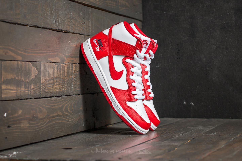 160b50319eae Nike SB Zoom Dunk High Pro University Red  University Red