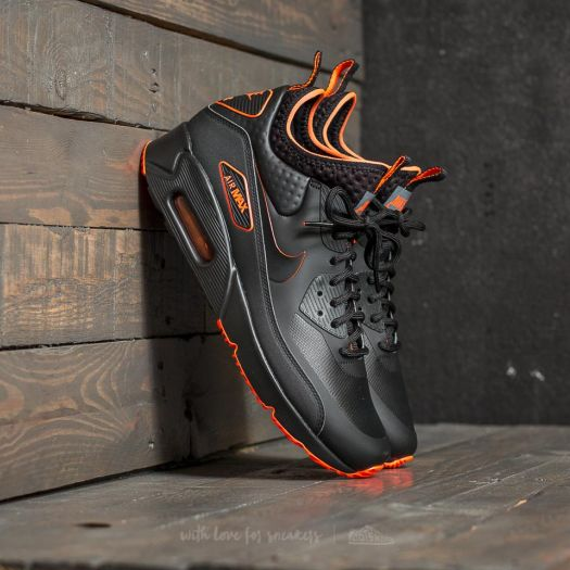 best sneakers d799b 90fcc Nike Air Max 90 Ultra Mid Winter SE Black/ Black-Total ...