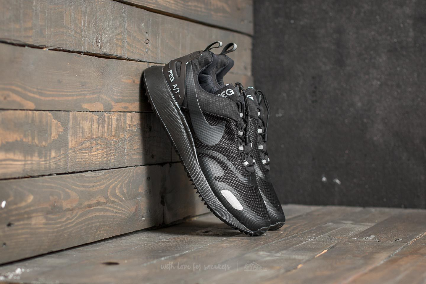 outlet store 81f32 ee95a Nike Air Pegasus AT Winter Black Black-Wolf Grey at a great