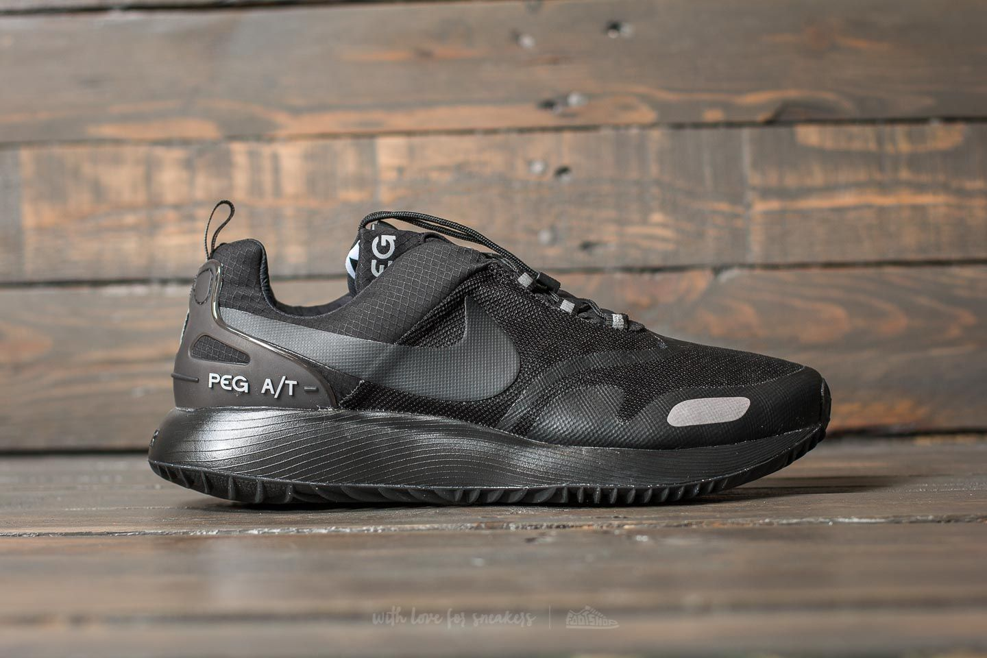 outlet store 57a6e 149b0 Nike Air Pegasus AT Winter Black Black-Wolf Grey at a great