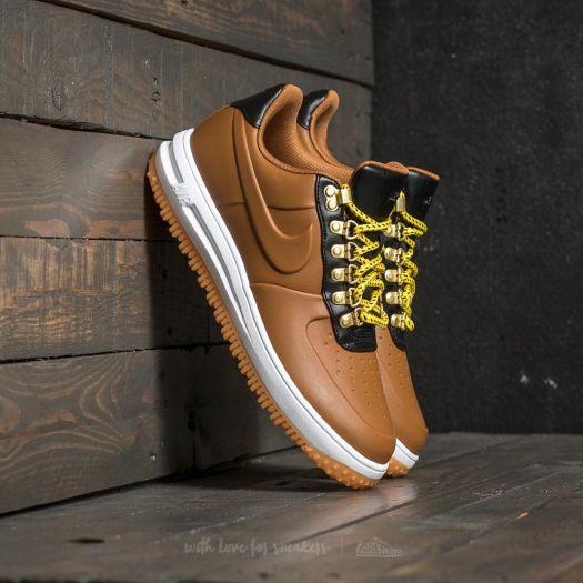 Nike Lunar Force 1 Duckboot Low Ale Brown  Ale Brown-Black  0ce91ace04