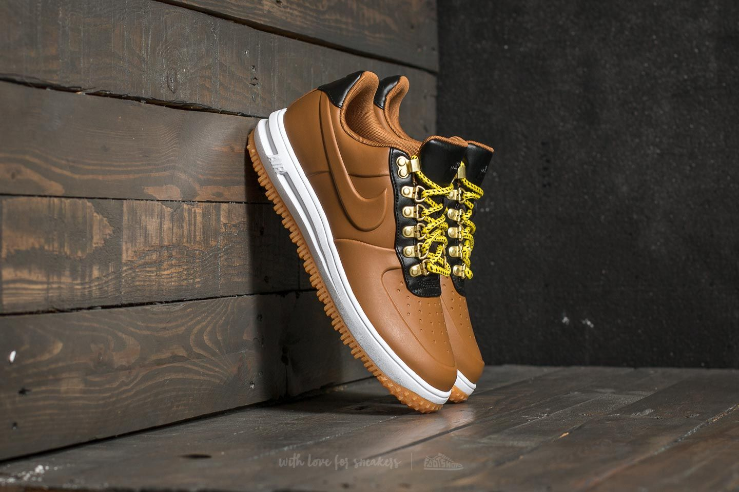 Nike Lunar Force 1 Duckboot Low Ale Brown Ale Brown Black | Footshop
