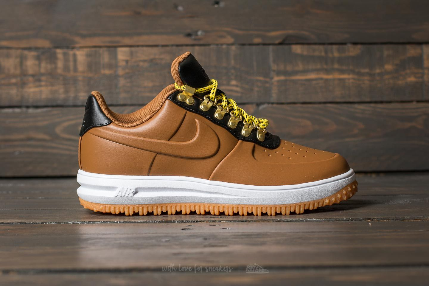 1cc86ac3ab Nike Lunar Force 1 Duckboot Low Ale Brown/ Ale Brown-Black | Footshop