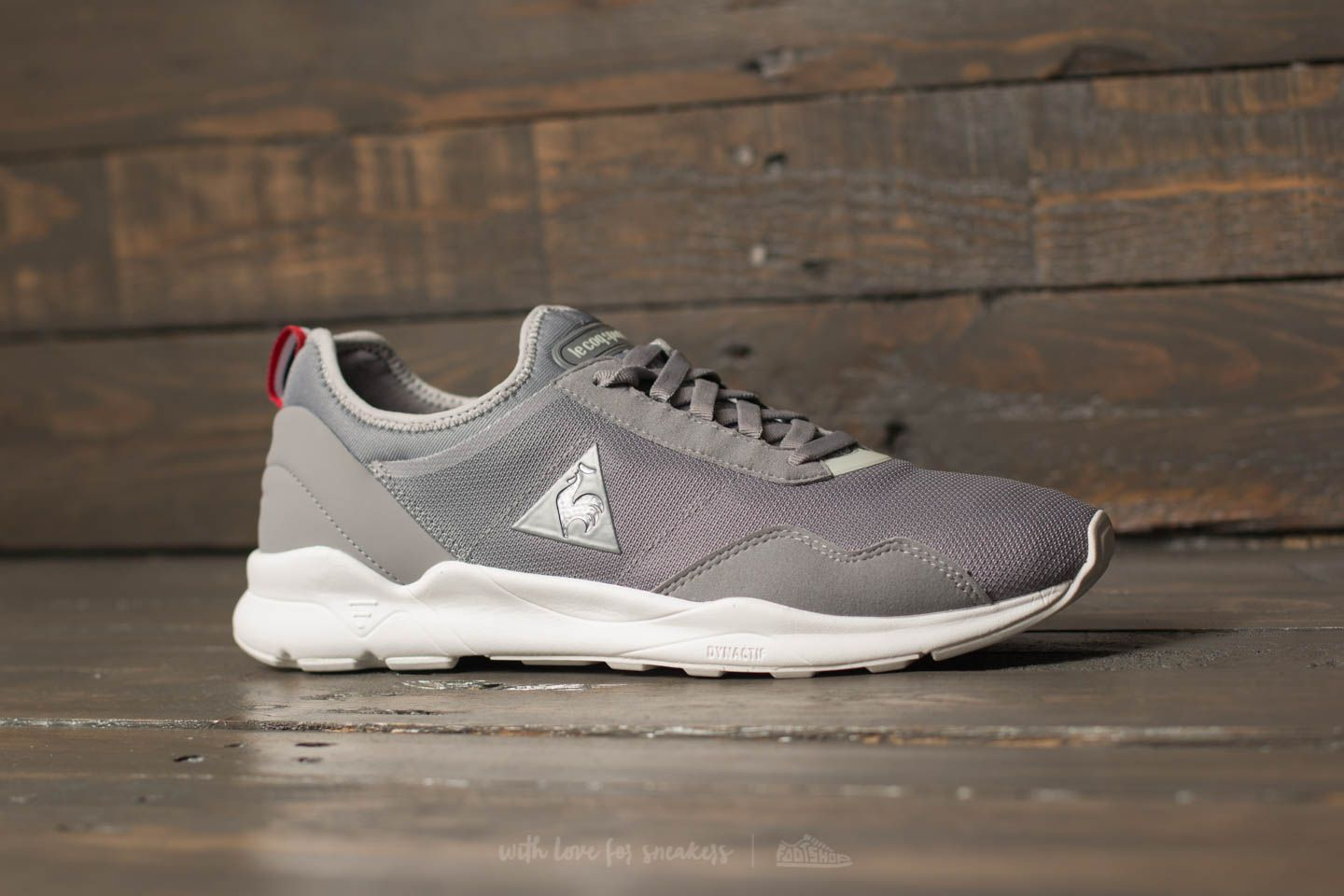 d1f7679b1c52 le coq sportif LCSR XX Mesh Frost Gray  Galet at a great price £36