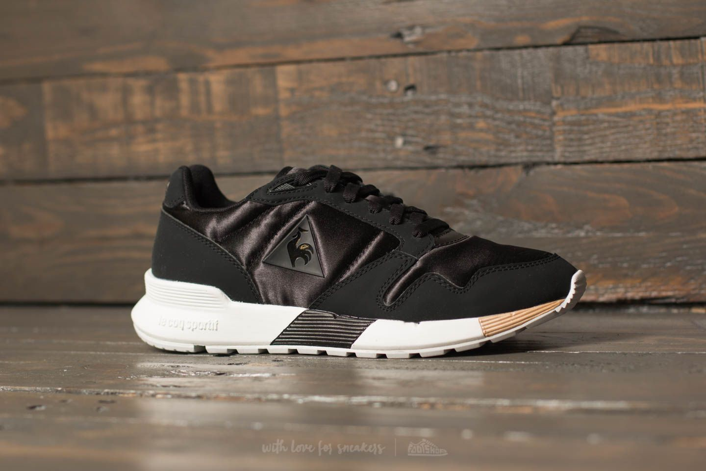 eb98ad821388 le coq sportif Omega X W Satin Black  Rose Gold at a great price £54
