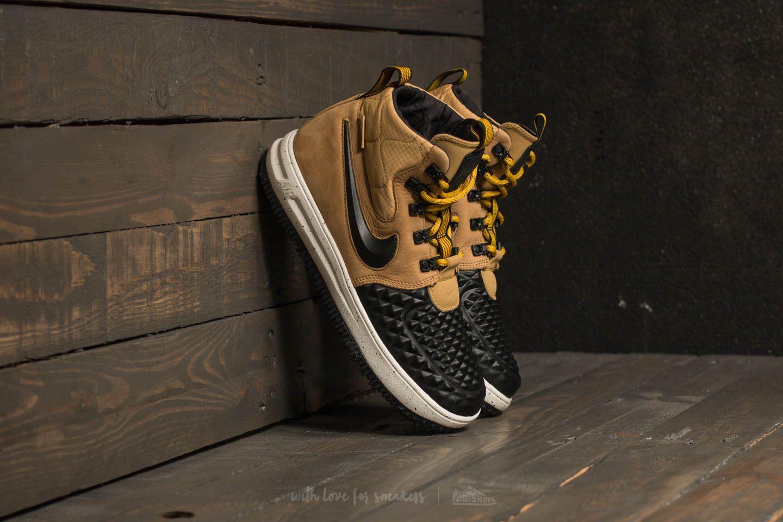 huge selection of 2d6ac 200c8 Nike Lunar Force 1 Duckboot ´17 (GS) Metallic Gold  Black-Light