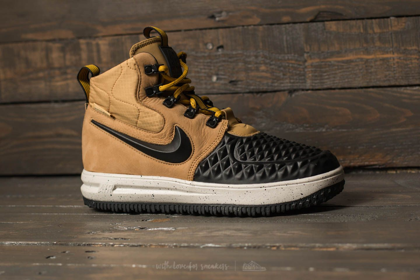 Nike Lunar Force 1 Duckboot ´17 (GS) Metallic Gold Black