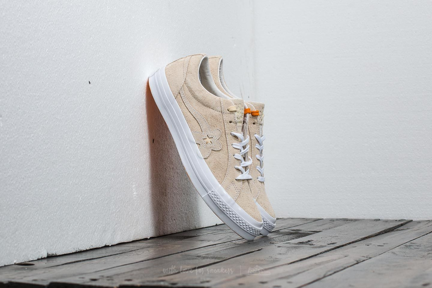 Converse X Tyler The Creator One Star Golf Le Fleur Ox Vanilla Vanilla White