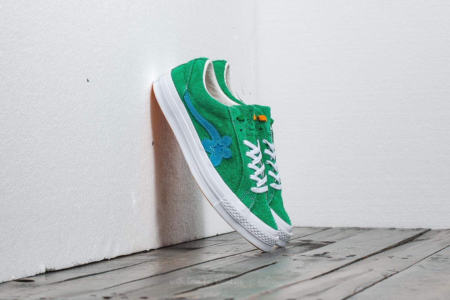 ba6062e6fa4226 Converse x Tyler The Creator One Star Golf Le Fleur Ox Jolly Green   Hawaiian Ocean