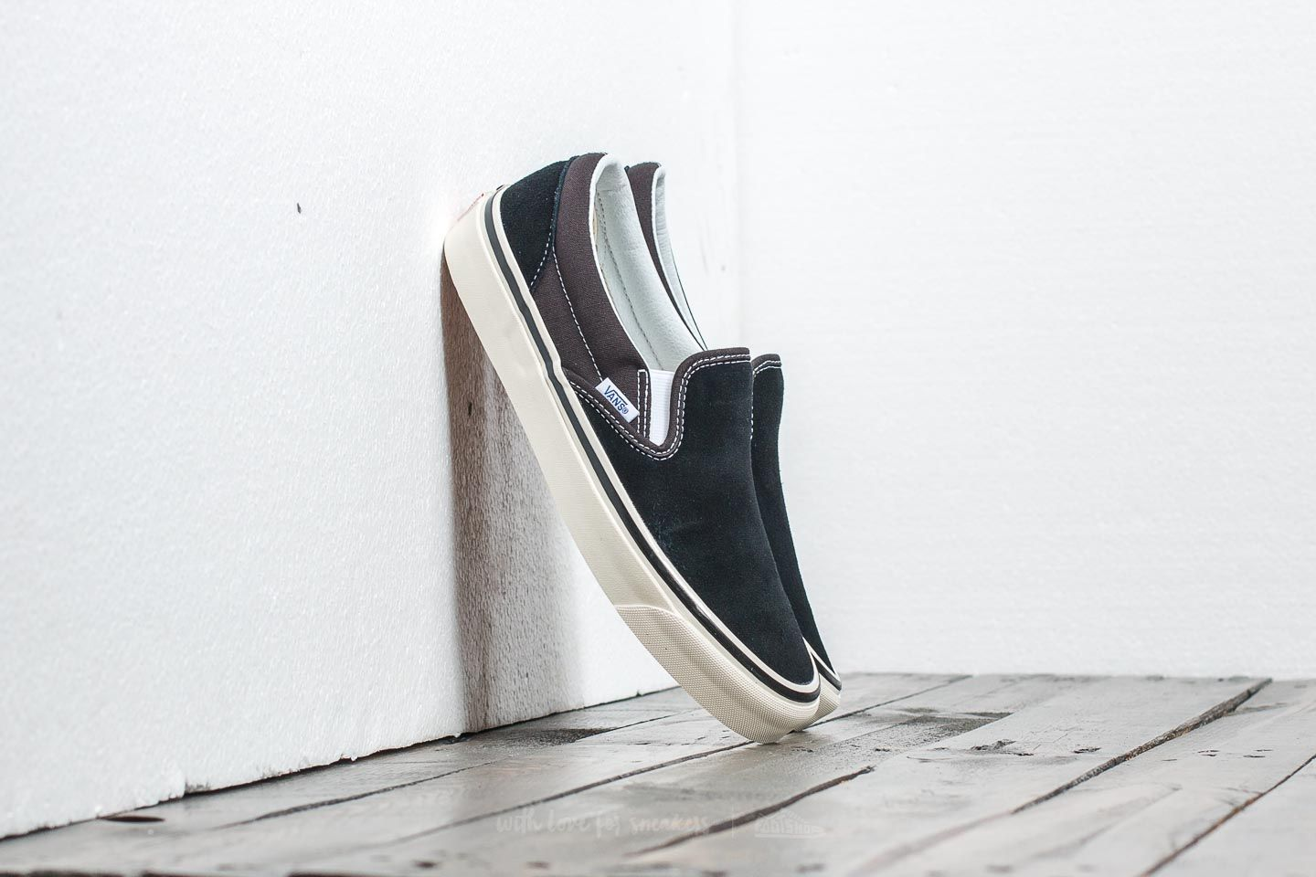 Men's shoes Vans Classic Slip-on 9 (Anaheim Factory) Black
