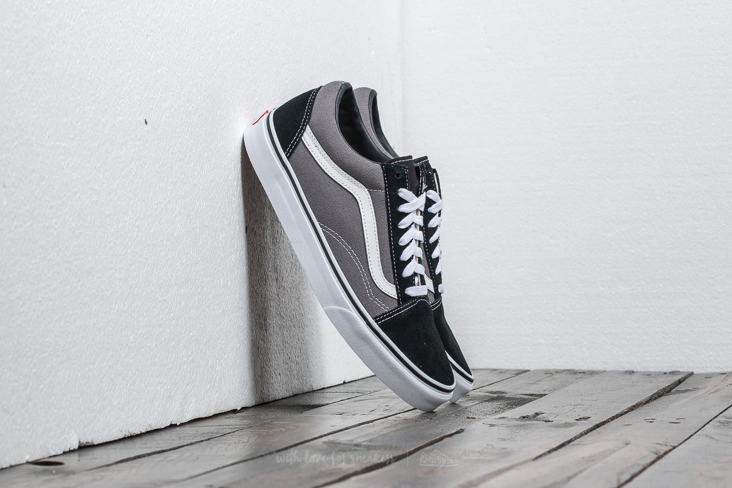 Vans Old Skool Black Pewter | Footshop