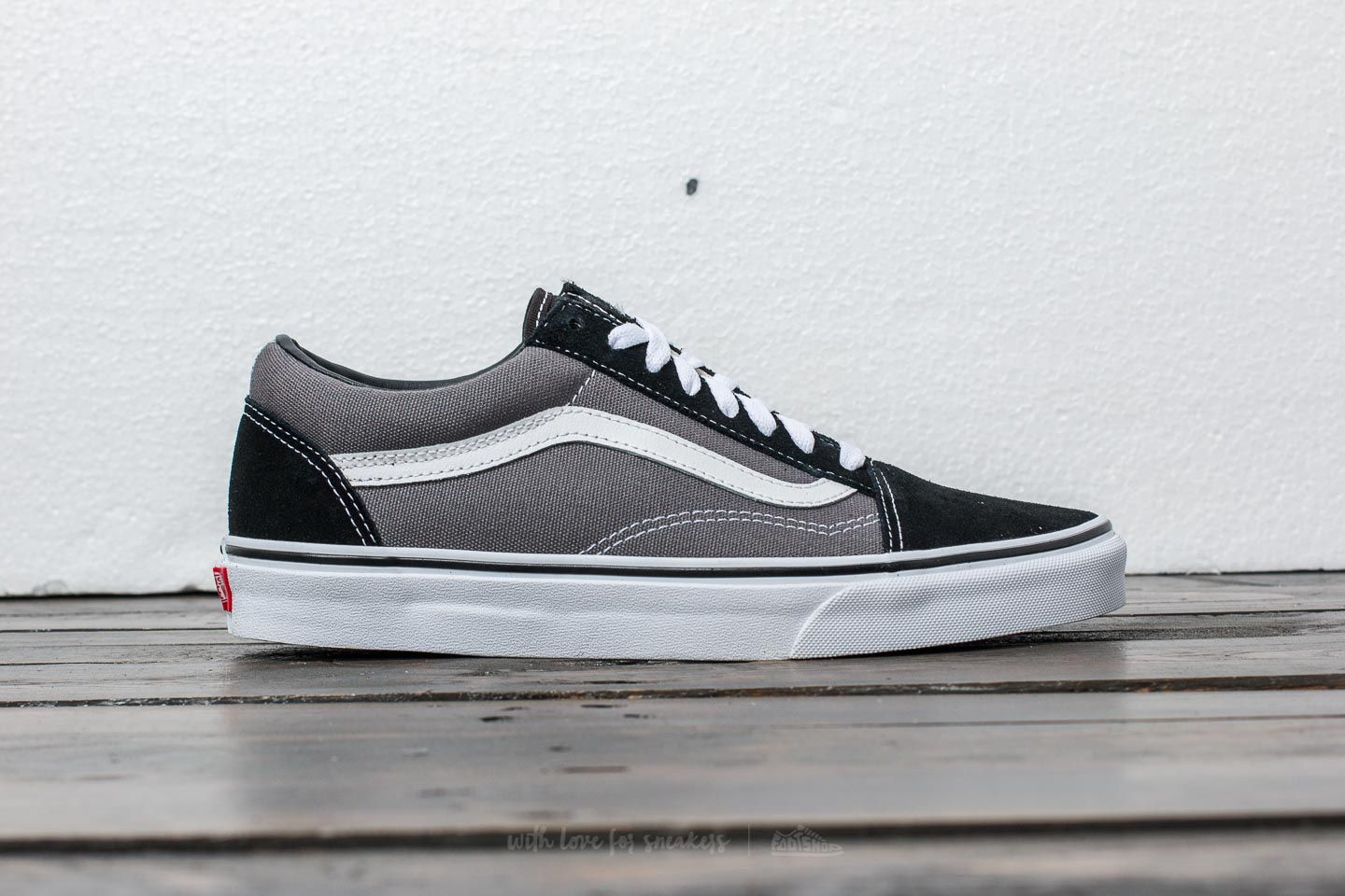 47b406f724 Vans Old Skool Black  Pewter at a great price  73 buy at Footshop