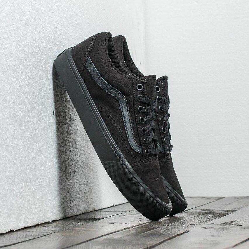 Vans Old Skool Lite (Canvas) Black/ Black EUR 34.5