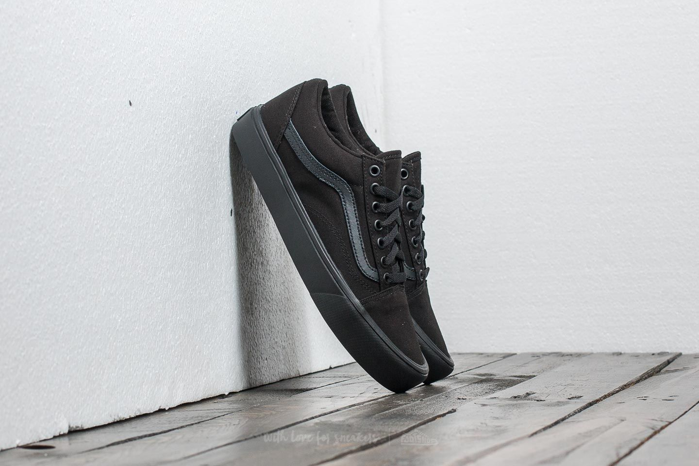 Чоловіче взуття Vans Old Skool Lite (Canvas) Black/ Black