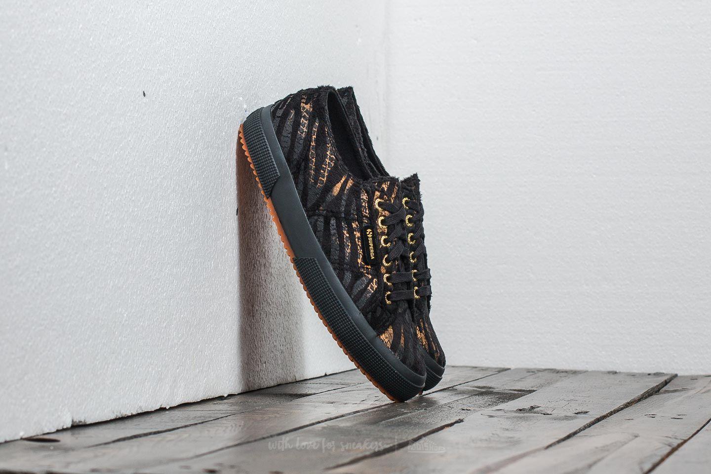 Superga 2750 Fabric Synthetic Zebra W Black-Bronze za skvělou cenu 899 Kč koupíte na Footshop.cz