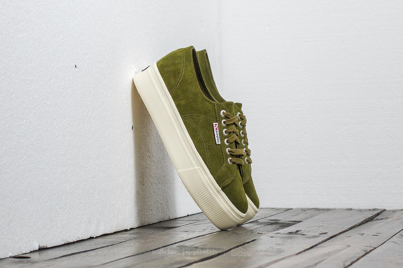 shoes Superga 2790 Suede W Green Tea