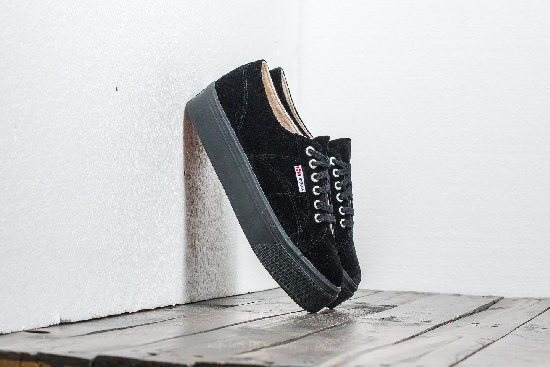 71bcf79ef8fe9 Superga 2790 Velvet W Black | Footshop