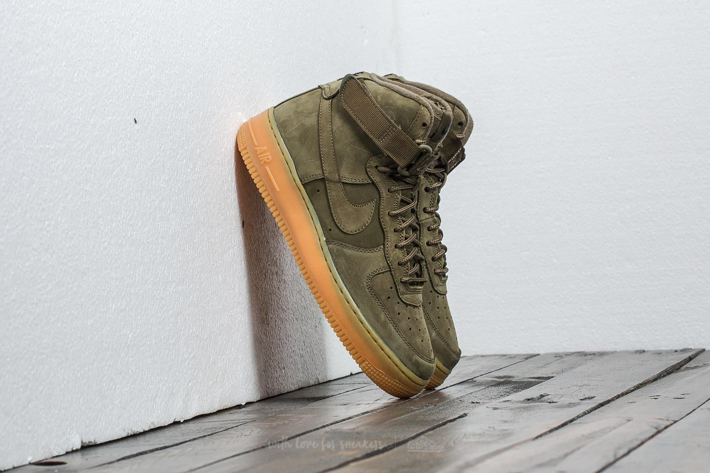 6a0b09008cff Nike Air Force 1 High WB (GS) Medium Olive  Medium Olive