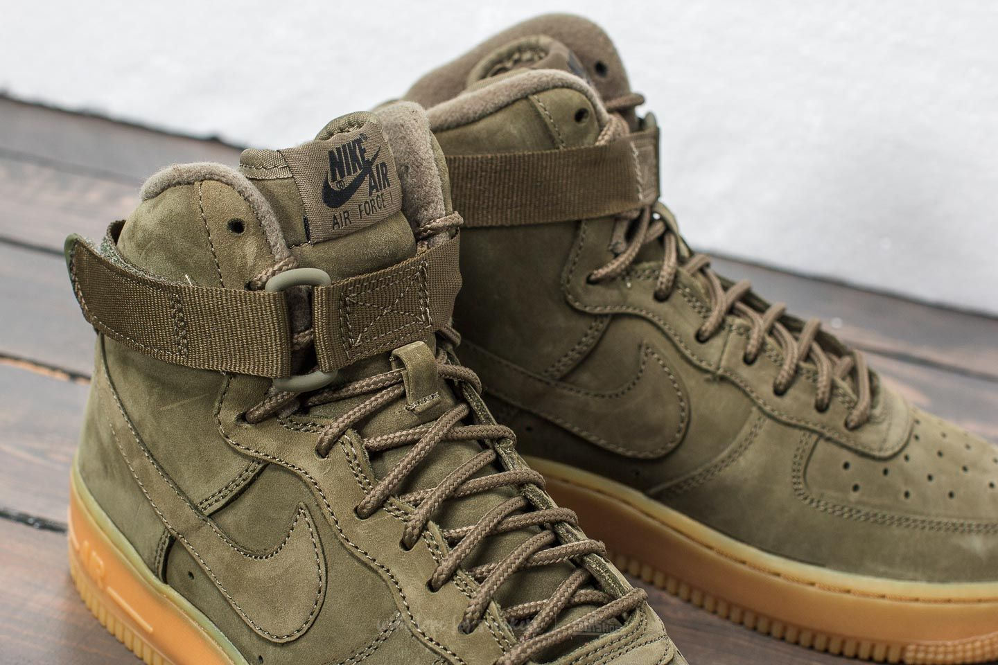 nike special field air force 1 mid olive