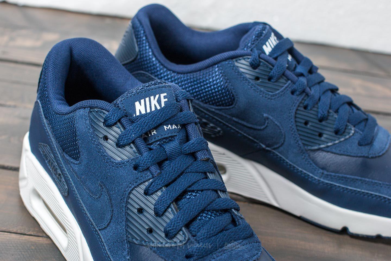 Nike Air Max 90 Ultra 2.0 Leather Midnight Navy Midnight Navy | Footshop