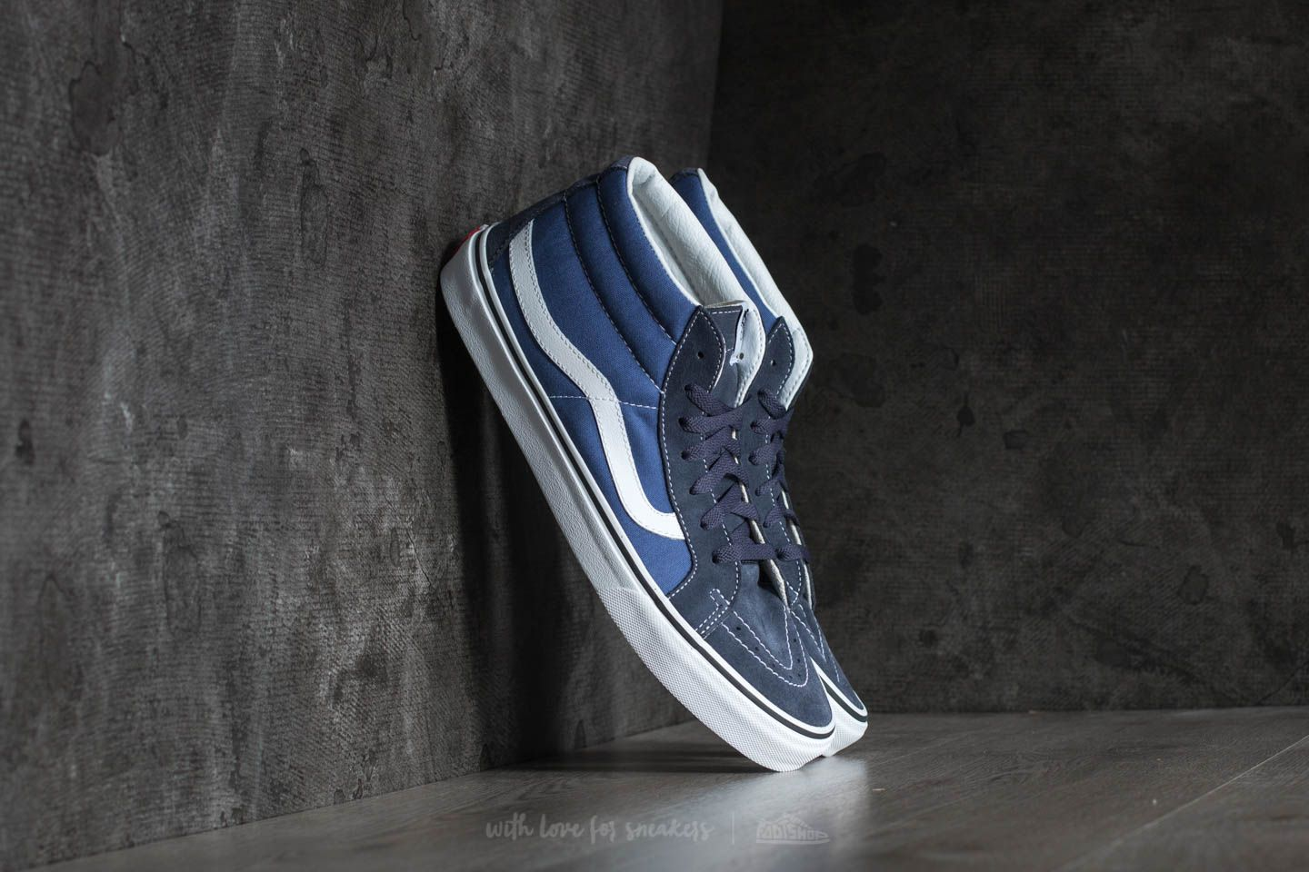 fb0d055d8f4f00 Vans SK8-Mid Reissue Parisian Night  True Navy