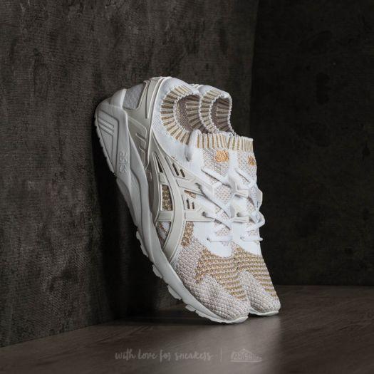 seguridad ponerse nervioso Sentido táctil  Men's shoes Asics Gel-Kayano Trainer Knit White/ White | Footshop