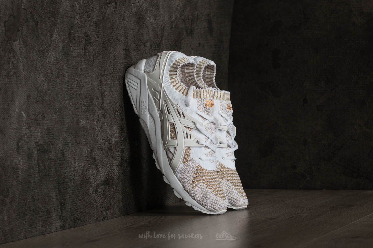 9511ab4b4aaa Asics Gel-Kayano Trainer Knit White  White at a great price £96 buy