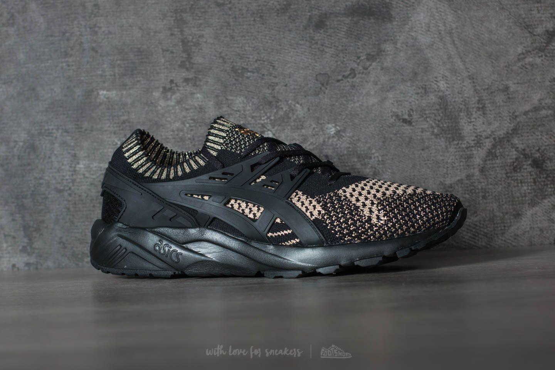 buy online 0cd24 c8f1a Asics Gel-Kayano Trainer Knit Black/ Black | Footshop