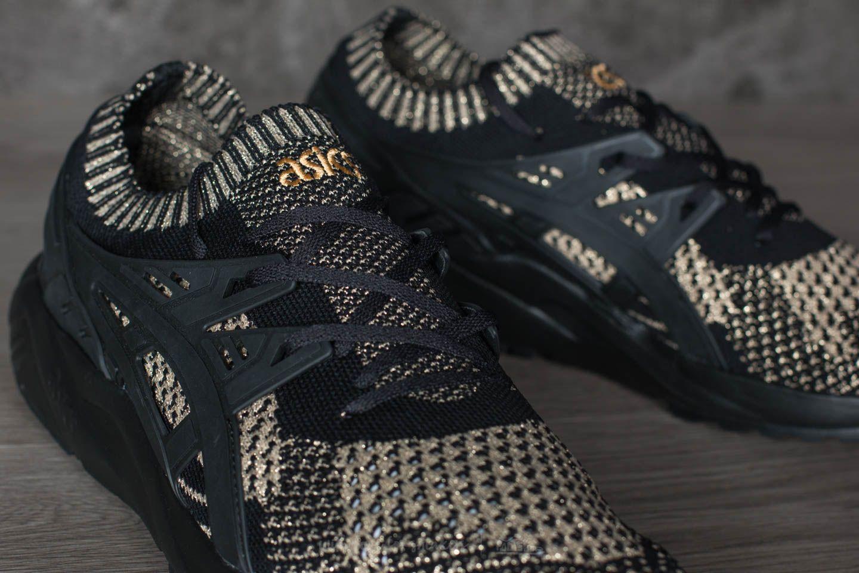 Asics Gel Kayano Trainer Knit Black Black | Footshop