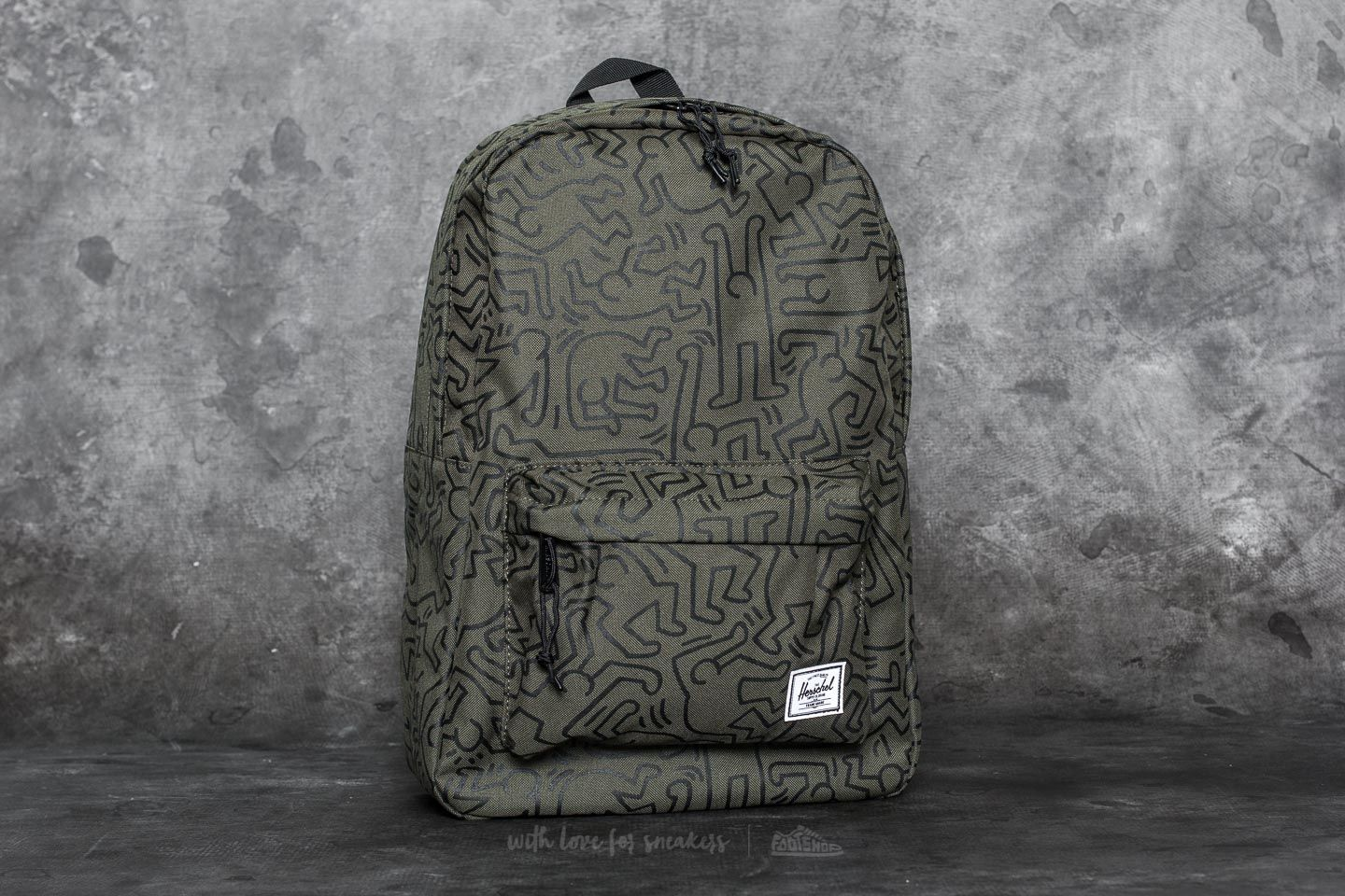 c795df7bfcc Herschel Supply Co. Winlaw Backpack Forest Night-Keith Haring