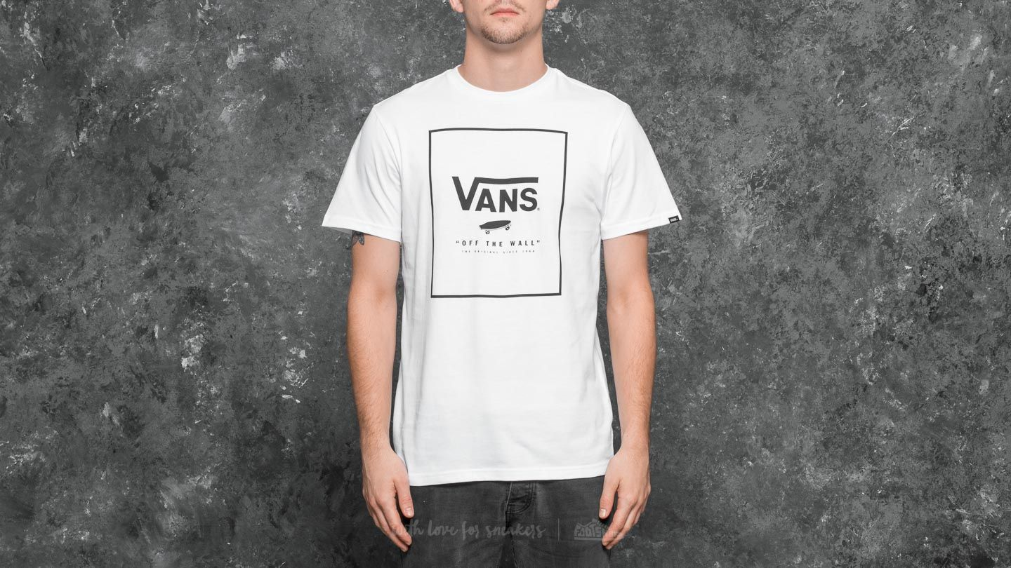 023636b3f0 Vans Print Box Tee White-Black
