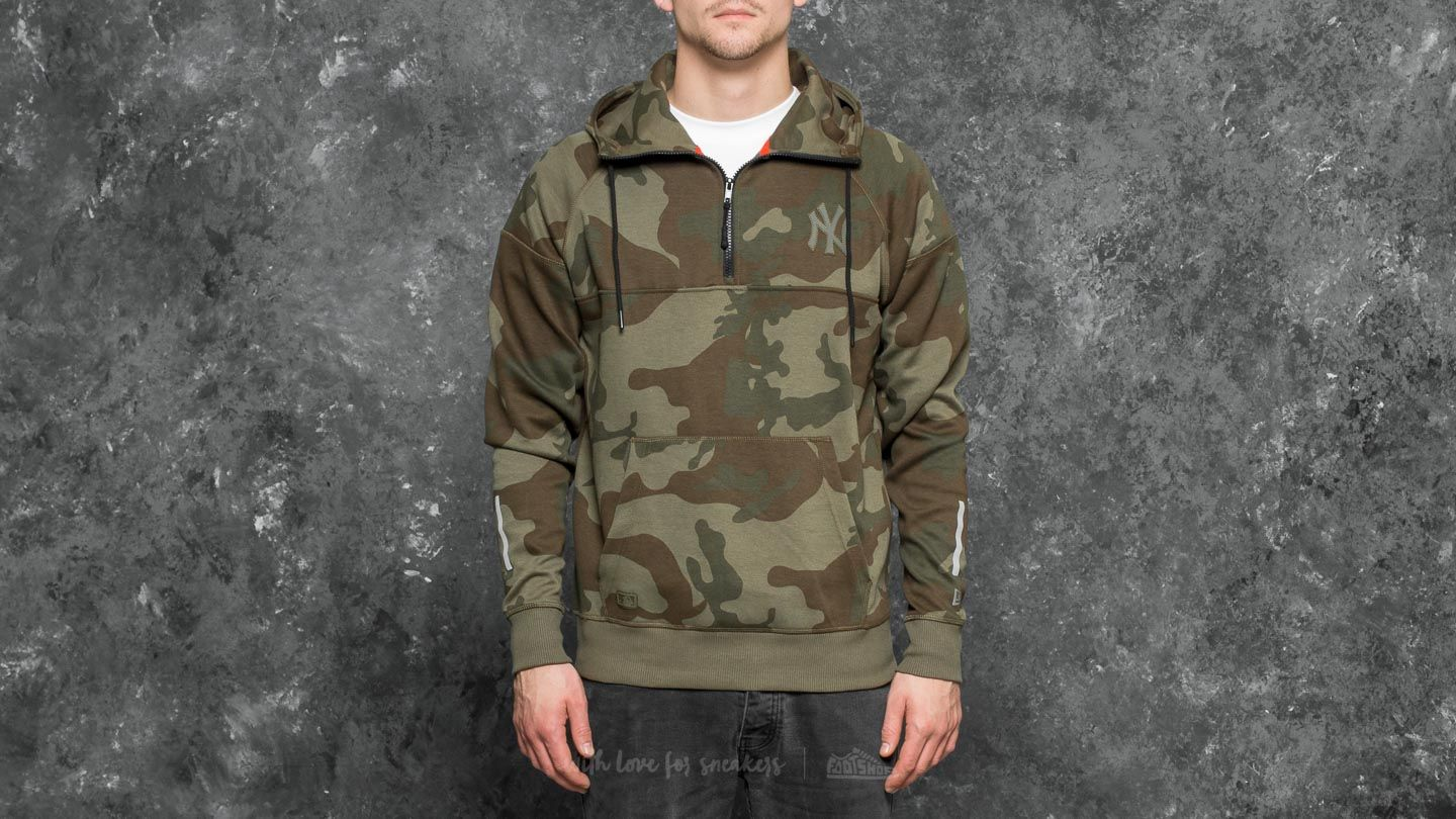 New Era NTC New York Yankees Hoodie Green Camo
