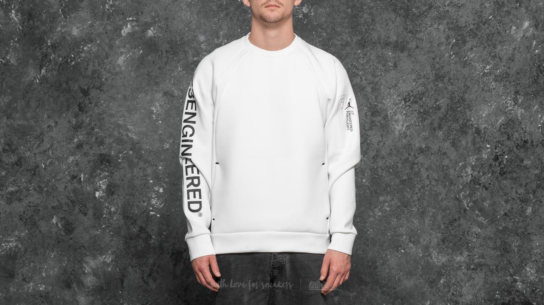 0661f8f14fd1c0 Jordan Sportswear Flight Tech Shield Crew Summit White