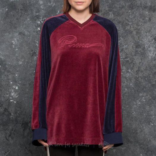 puma velvet pullover